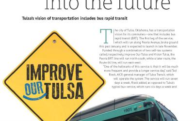 Tulsa's vision for transportation includes BRT